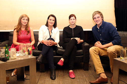 Leonora O'Brien, Niamh McHugh, Eleanor Moss, Chris Devaney.